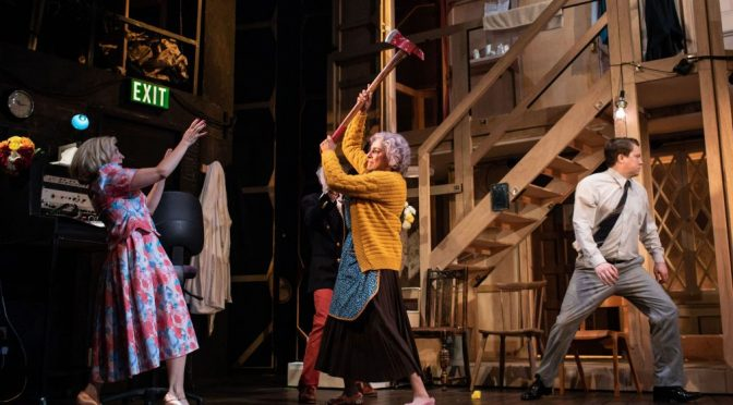"""""""Noises Off"""" at the Lyric Theatre Hammersmith"""