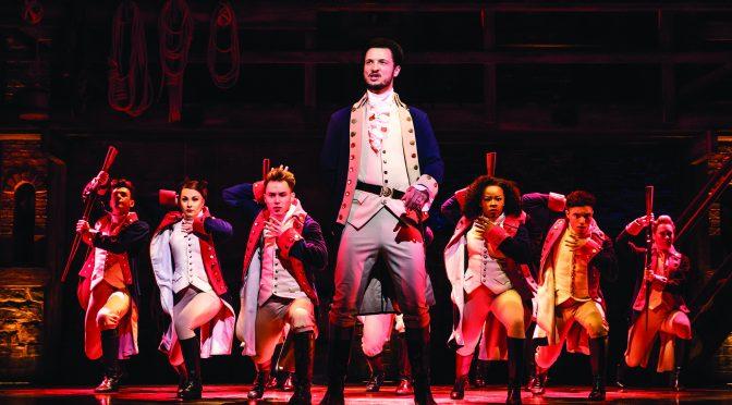 """""""Hamilton"""" at the Palace Theatre Victoria"""