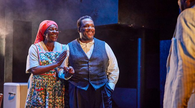 """Death of a Salesman"" at the Piccadilly Theatre"