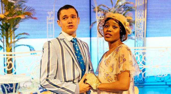 Dylan Mason and Amara Okereke in 'The Boy Friend' at the Menier Chocolate Factory