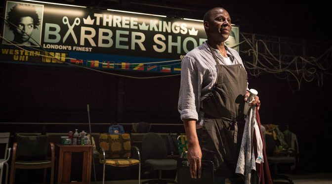 """Barber Shop Chronicles"" from NTLive"