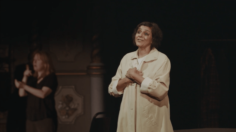 Myra Syal in 'The Greatest Wealth' from The Old Vic