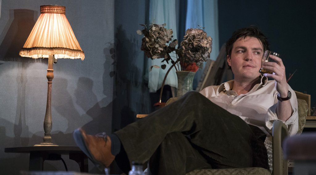 Tom Burke in The Deep Blue Sea. Image by Richard Hubert Smith