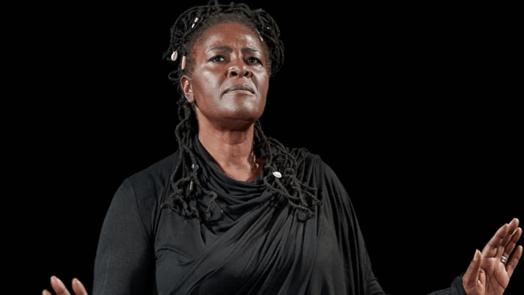Sharon D Clarke in 'The Greatest Wealth' from The Old Vic