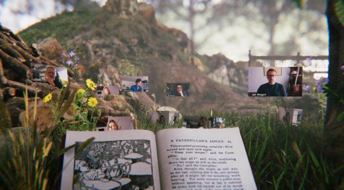 """Alice, A Virtual Theme Park"""