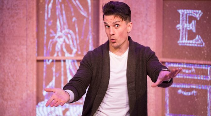 """Buyer and Cellar"" at the Above The Stag Theatre"