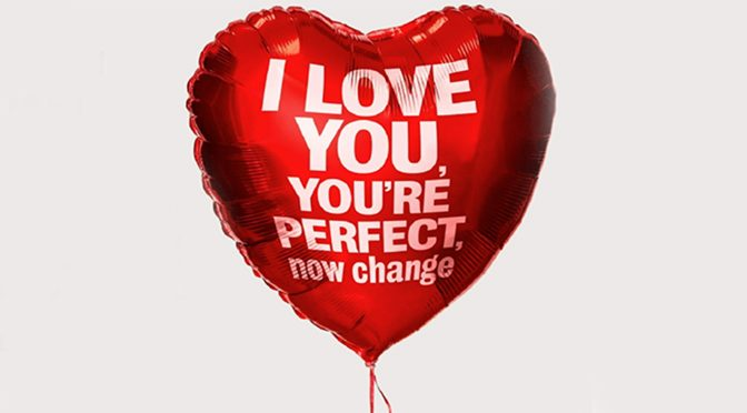 """I Love You, You're Perfect, Now Change"" from the London Coliseum"