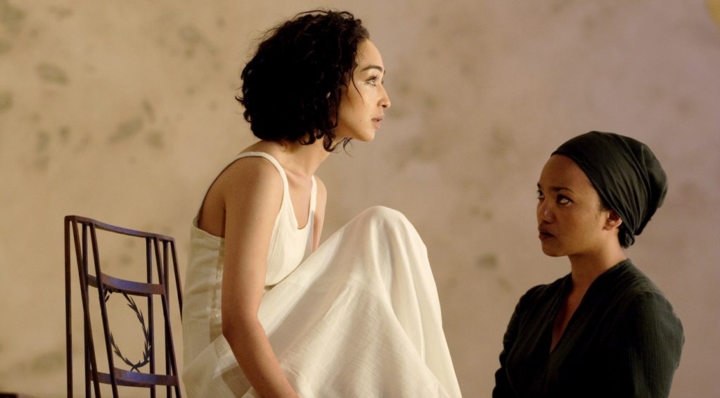 Ruth Negga and Chipo Chung in Phedre credit Catherine Ashmore