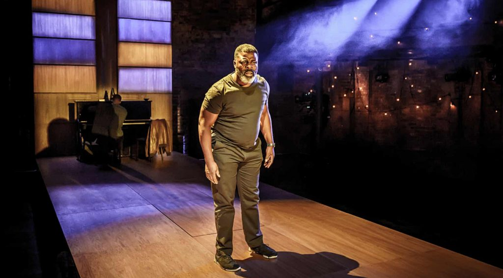 Danny Sapani in Hymn at the Almeida Theatre