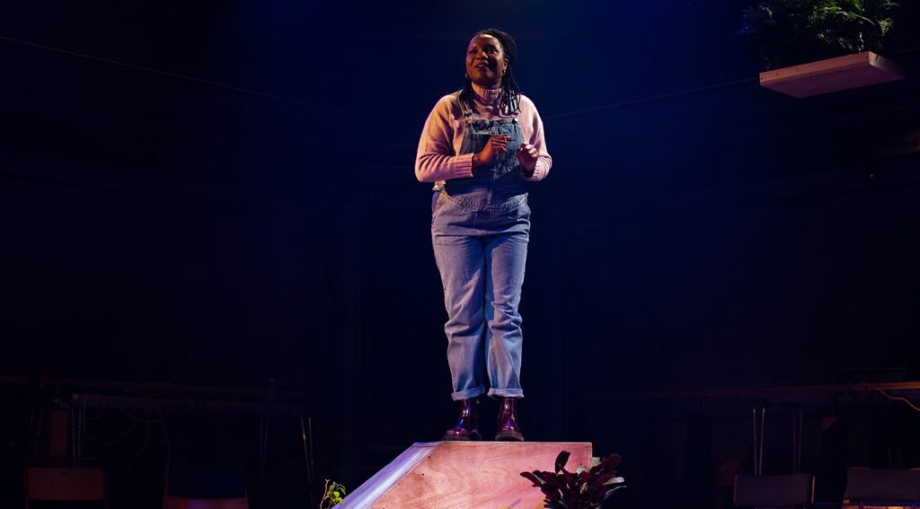 Temi Wilkey at the Orange Tree Theatre Richmond
