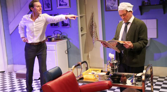 """""""Staircase"""" at the Southwark Playhouse"""