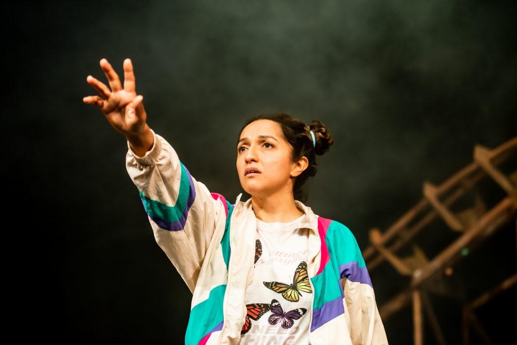 Verna Vyas, Bad Nights and Odd Days, Greenwich Theatre (credit Lidia Crisafulli)