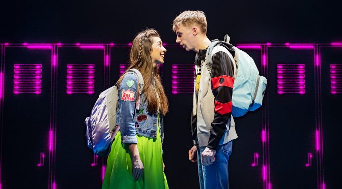 """""""Be More Chill"""" at the Shaftesbury Theatre"""