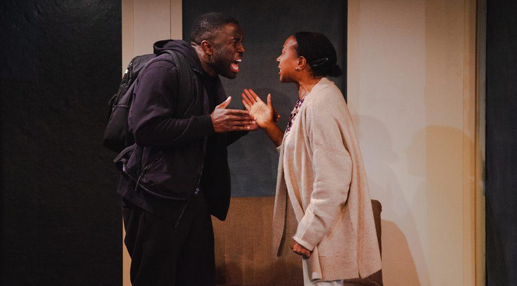Michael Fatogun and Doreene Blackstock in FOXES credit Adiam Yemane